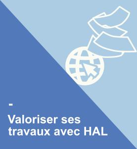 Valoriser ses travaux avec HAL