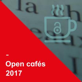 Open cafés 2017
